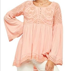 Free People Sea of Love Tunic Medium